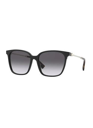 Valentino Valentino 0Va4078 50018G 57 Ekartman Kadın Güneş Gözlüğü Siyah